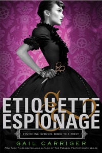 The cover of Etiquette & Espionage.